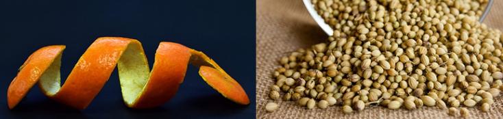 Casca de laranja e sementes de coentro: ingredientes comuns nas Witbier
