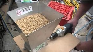Moagem dos grãos de malte