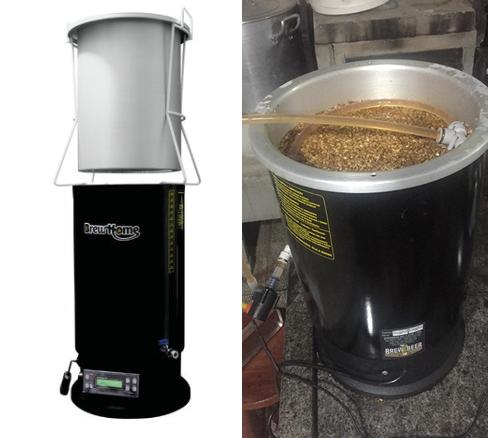 Sistema BrewHome para recirculação do mosto